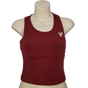 STRONG PHYSIQUEZ cropped tank top medium